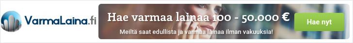 Hae varmaa lainaa VarmaLaina.fi palvelusta!