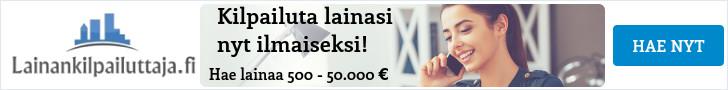 LainanKilpailuttaja kilpailuttaa lainat puolestasi!