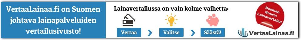 VertaaLainaa.fi - Lainaa heti 100 - 70.000 euroa!